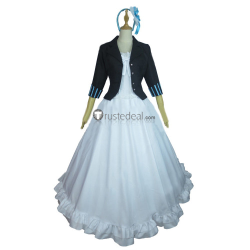 Black Butler Kuroshitsuji Movie Book Of The Atlantic Elizabeth Midford Dress Cosplay Costume