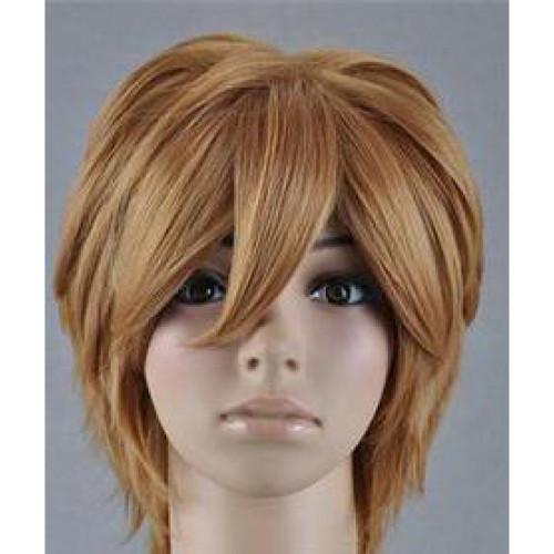 Another Teshigawara Naoya Short Brown Cosplay Wig