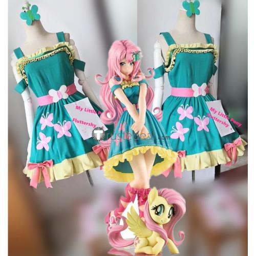 My Little Pony Bishoujo Fluttershy Dress Cosplay Costume 2
