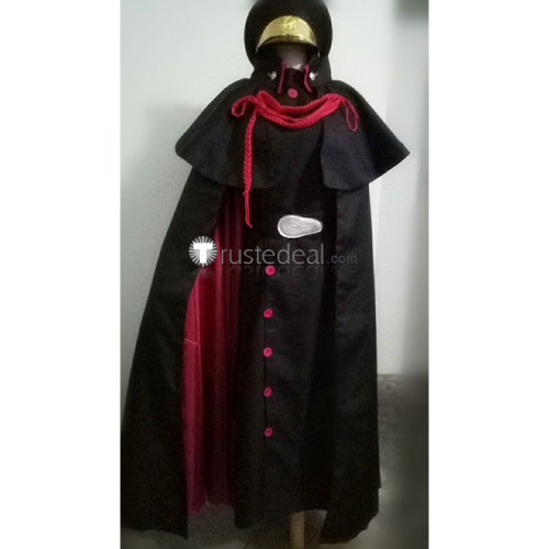 Twin Star Exorcists Sousei no Onmyouji Kankuro Mitosaka Military Black Cosplay Costume