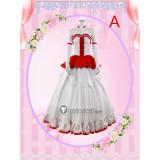 Sword Art Online Asuna Yuuki Alice Zuberg Game Wedding Dress Cosplay Costume