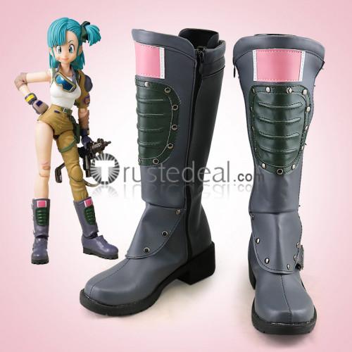Dragon Ball Bulma Cosplay Boots Shoes