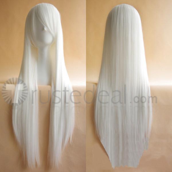 Vocaloid Haku White Cosplay Wig