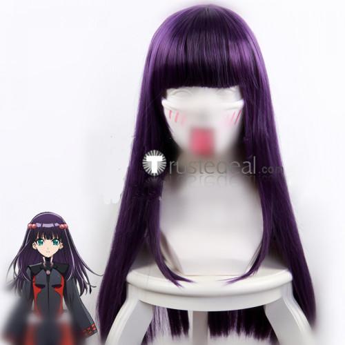 Twin Star Exorcists Sousei no Onmyouji Benio Adashino Purple Cosplay Wig