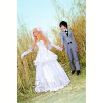 Sword Art Online Asuna White Wedding Dress