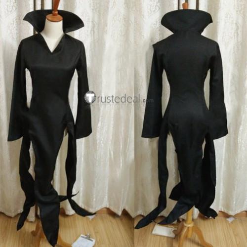 One Punch Man Tornado of Terror Tatsumaki Black Cosplay Costume