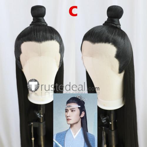 Mo Dao Zu Shi Grandmaster of Demonic Cultivation The Untamed Wei WuXian Lan WangJi Lan Xichen Lace Front Cosplay Wigs