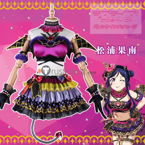 Love Live Sunshine Aqours Yoshiko Dia Kanan Ruby Chika Mari Riko You Hanamaru Little Devil Cosplay Costumes