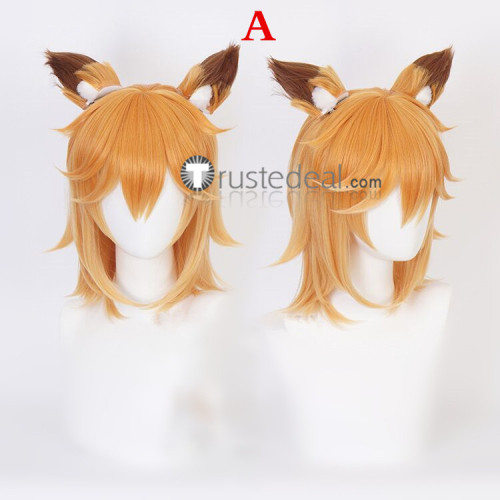 Sewayaki Kitsune no Senko-san Shiro and Senko-san Cosplay Wigs