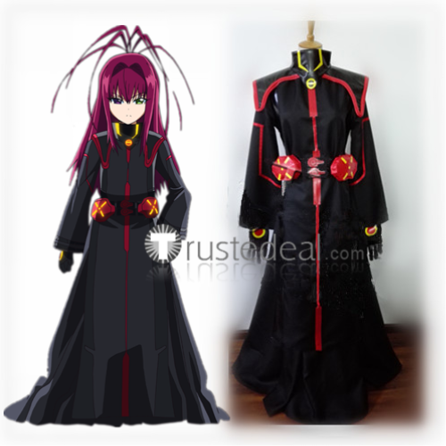 Sousei no Onmyouji Tenma Unomiya Black Cosplay Costume