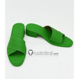 Mobile Suit Gundam Seed Cagalli Yula Athha Green Cosplay Shoes Boots