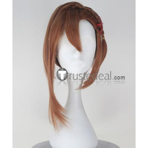 Seraph of the End Owari no Serafu Sayuri Hanayori Brown Cosplay Wig