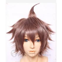 Danganronpa Trigger Happy Havoc Makoto Naegi Brown Cosplay Wig