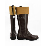 KonoSuba God's Blessing on this Wonderful World Satou Kazuma Brown Cosplay Boots Shoes