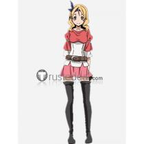 Tensei Shitara Slime Datta Ken Elen Eren Red Pink Cosplay Costume
