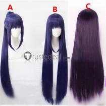 Shugo Chara Nadeshiko Fujisaki Long Purple Ponytail Cosplay Wigs