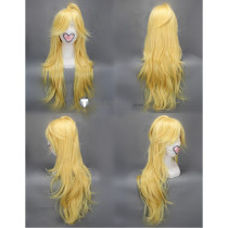 Panty Stocking with Garterbelt Panty Blonde Curly Cosplay Wig