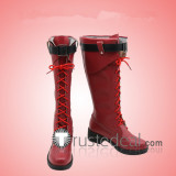 Boku no Hero Academia ED Witch Ochaco Uraraka Dark Red Cosplay Boots