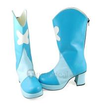 Pretty Cure Cure Aqua Blue Cosplay Boots Shoes