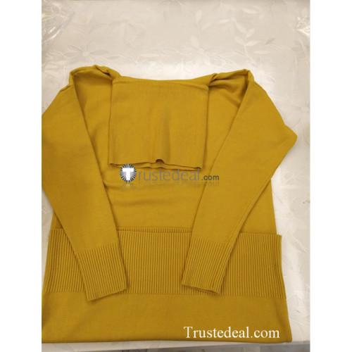 Uta no Prince-sama Ringo Tsukimiya Yellow Sweater Cosplay Costume