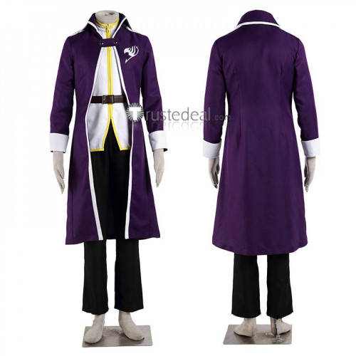 Fairy Tail Erza Gray Natsu Lucy Elfman Wendy Grand Magic Games Purple Cosplay Costumes