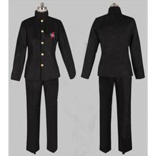Another Kouichi Sakakibara Boys Black School Uniform Cosplay Costume