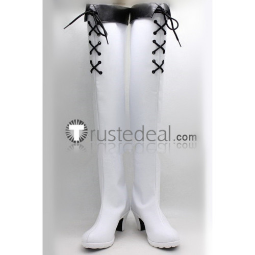 Akame ga Kill Esdeath White Cosplay Shoes Boots