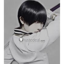 Axis Powers Japan Kiku Honda Black Cosplay Wig