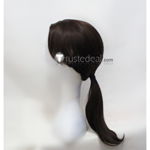 Assassin's Creed Arno Victor Dorian Brown Black Pigtail Cosplay Wigs