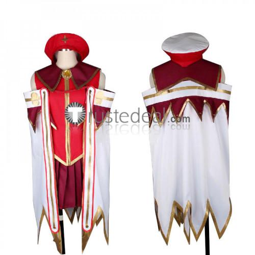 Hataraku Maou-sama The Devil Is A Part Timer Emerada Etuva Red Cosplay Costume