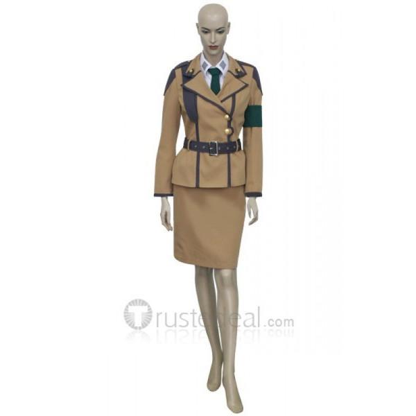Code Geass Croomy Female Uniform Cosplay Costume