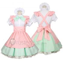 Alice in Wonderland Alice Pink Cosplay Costume