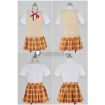 The Idolmaster Cinderella Girls Rika Jougasaki Cosplay Costume