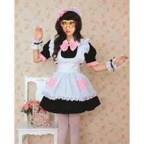 Maid Sama Sailor White and Black Cosplay Costume