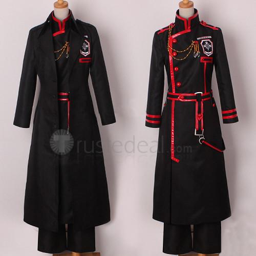 D.Gray-man Hallow Kanda Yuu 3rd Uniform Cosplay Costume