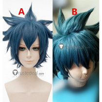 Yu Gi Oh Jesse Anderson Gray Blue Cosplay Wigs