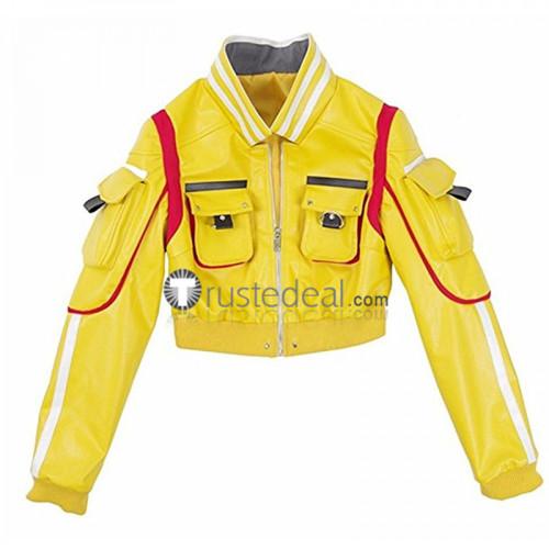Final Fantasy XV FF15 Cindy Aurum Yellow Cosplay Costume