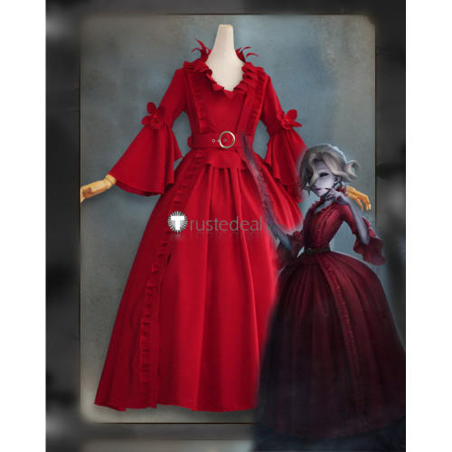 Identity V Bloody Queen Mary Red Cosplay Costume