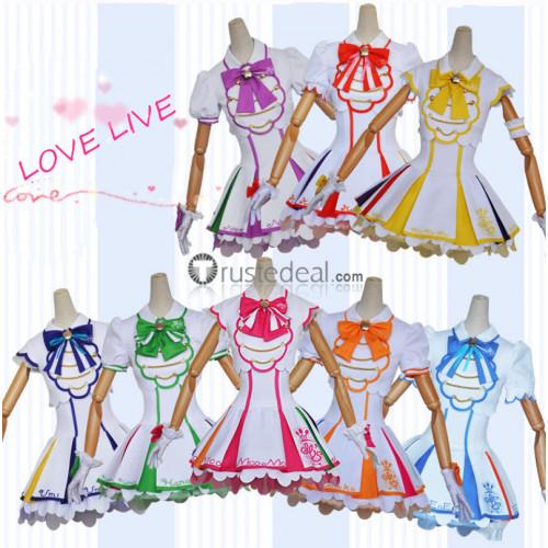 Love Live SIFAC Arcade game 4 Umi Nico Eli Maki Tojo Kotori Rin Honoka Hanayo Cosplay Costumes