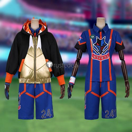 Pokemon Sword and Shield Gym Leader Raihan Cosplay Costume