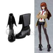 Gothic Steins Gate Makise Kurisu Cosplay Shoes Boots