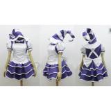 League of Legends Bittersweet Lulu Purple White Dress Cosplay Costume 2