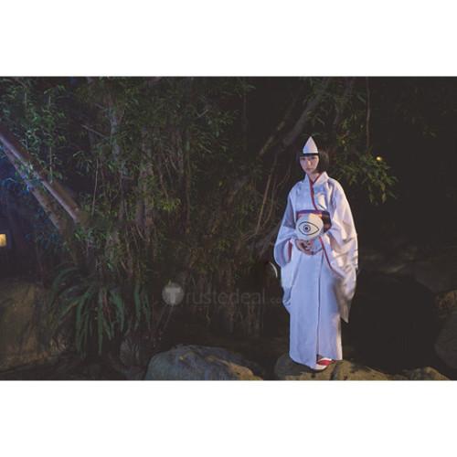 Noragami Shinki Nora White Kimono Cosplay Costume