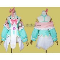 Hyperdimension Neptunia Plutia Pururut Cosplay Costume