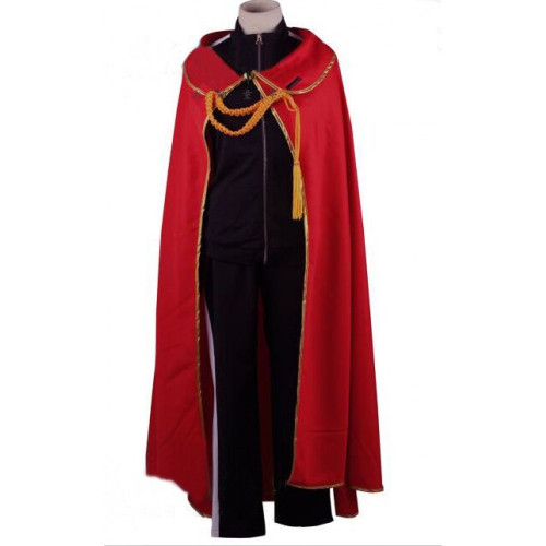 Noragami Yato Cosplay Red Cloak