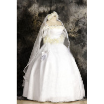Sailor Moon Tsukino Usagi Gorgeous Wedding Dress Cosplay Costume
