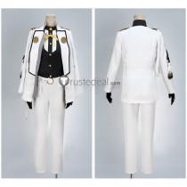 Touken Ranbu Higekiri White Cosplay Costume