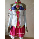 League of Legends LOL Star Guardian Ahri Pink White Cosplay Costume