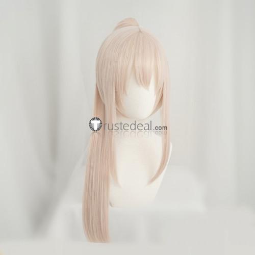 Azur Lane Le Malin Bremerton Ayanami Sirius White Cream Red Cosplay Wigs
