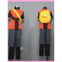 Pokemon RSE Ruby Brendan Cosplay Costume